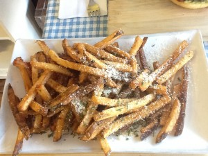 fries at juliebelle